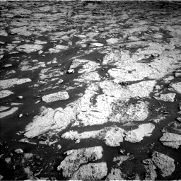 Nasa's Mars rover Curiosity acquired this image using its Left Navigation Camera on Sol 3145, at drive 2328, site number 88