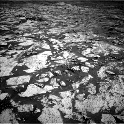 Nasa's Mars rover Curiosity acquired this image using its Left Navigation Camera on Sol 3145, at drive 2376, site number 88