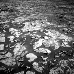 Nasa's Mars rover Curiosity acquired this image using its Left Navigation Camera on Sol 3145, at drive 2394, site number 88