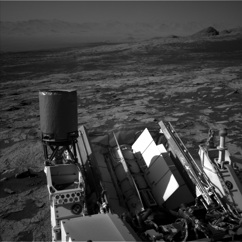 Nasa's Mars rover Curiosity acquired this image using its Left Navigation Camera on Sol 3145, at drive 2422, site number 88