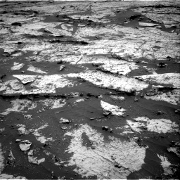 Nasa's Mars rover Curiosity acquired this image using its Right Navigation Camera on Sol 3145, at drive 2196, site number 88