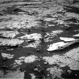 Nasa's Mars rover Curiosity acquired this image using its Right Navigation Camera on Sol 3145, at drive 2208, site number 88