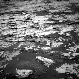 Nasa's Mars rover Curiosity acquired this image using its Right Navigation Camera on Sol 3145, at drive 2244, site number 88