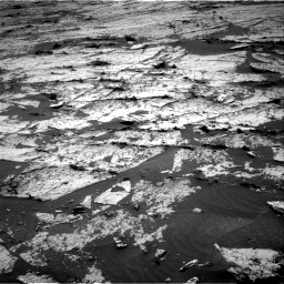 Nasa's Mars rover Curiosity acquired this image using its Right Navigation Camera on Sol 3145, at drive 2250, site number 88