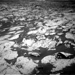 Nasa's Mars rover Curiosity acquired this image using its Right Navigation Camera on Sol 3145, at drive 2316, site number 88