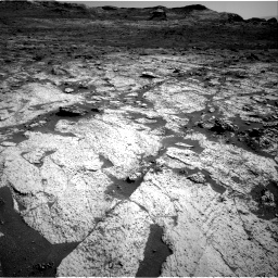 Nasa's Mars rover Curiosity acquired this image using its Right Navigation Camera on Sol 3145, at drive 2358, site number 88
