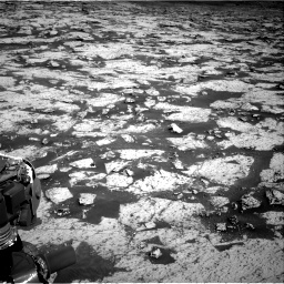 Nasa's Mars rover Curiosity acquired this image using its Right Navigation Camera on Sol 3145, at drive 2364, site number 88
