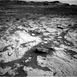 Nasa's Mars rover Curiosity acquired this image using its Right Navigation Camera on Sol 3145, at drive 2370, site number 88