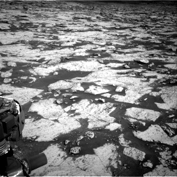 Nasa's Mars rover Curiosity acquired this image using its Right Navigation Camera on Sol 3145, at drive 2376, site number 88