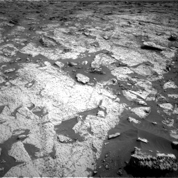 Nasa's Mars rover Curiosity acquired this image using its Right Navigation Camera on Sol 3145, at drive 2382, site number 88