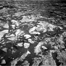 Nasa's Mars rover Curiosity acquired this image using its Right Navigation Camera on Sol 3145, at drive 2388, site number 88