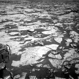 Nasa's Mars rover Curiosity acquired this image using its Right Navigation Camera on Sol 3145, at drive 2394, site number 88