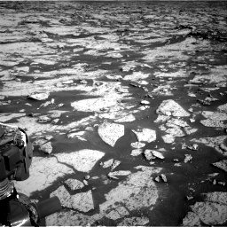 Nasa's Mars rover Curiosity acquired this image using its Right Navigation Camera on Sol 3145, at drive 2400, site number 88