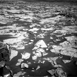 Nasa's Mars rover Curiosity acquired this image using its Right Navigation Camera on Sol 3145, at drive 2406, site number 88