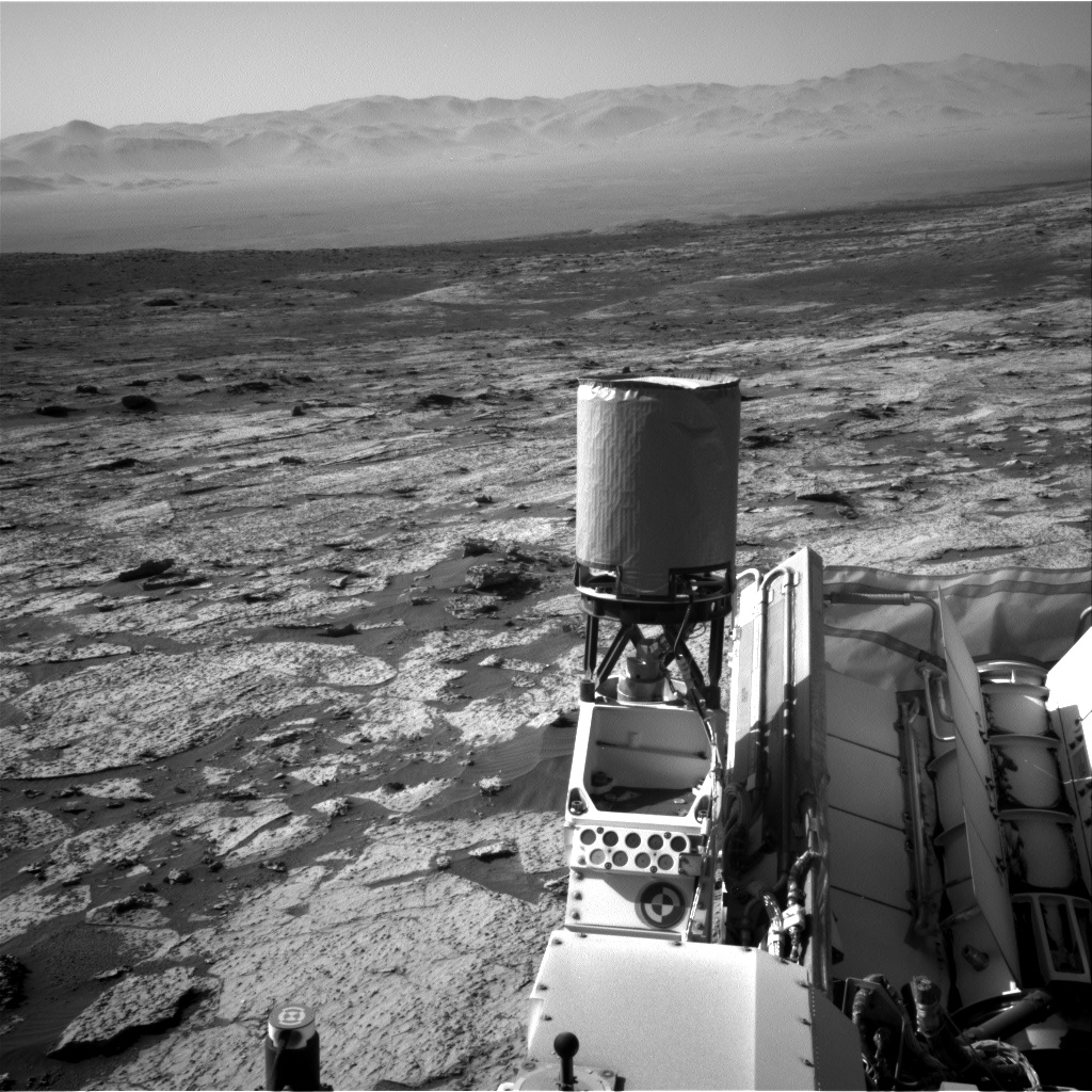 Nasa's Mars rover Curiosity acquired this image using its Right Navigation Camera on Sol 3145, at drive 2422, site number 88