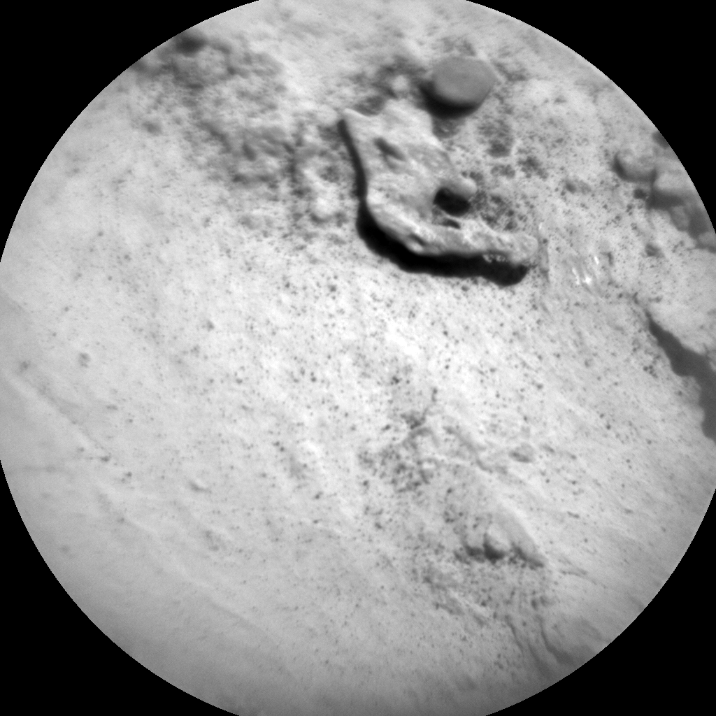 Nasa's Mars rover Curiosity acquired this image using its Chemistry & Camera (ChemCam) on Sol 3146, at drive 2422, site number 88