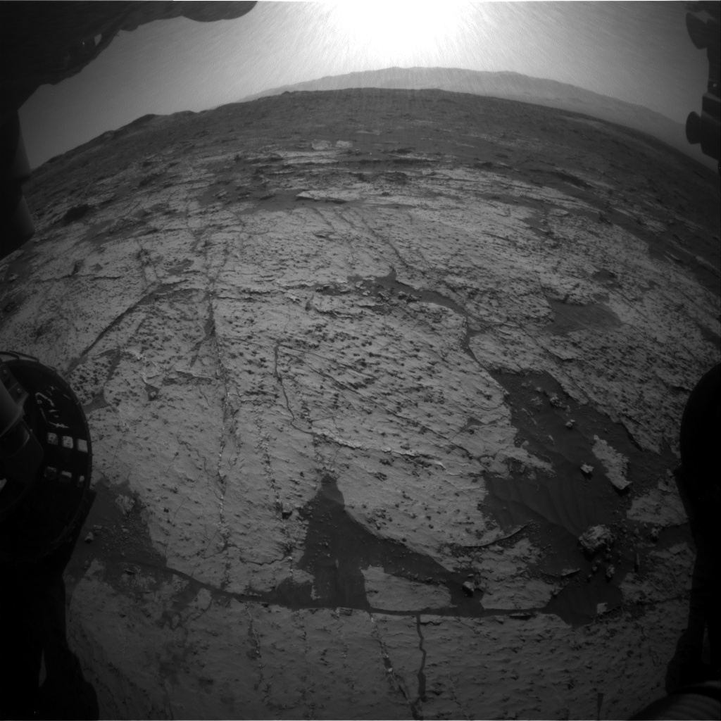 Nasa's Mars rover Curiosity acquired this image using its Front Hazard Avoidance Camera (Front Hazcam) on Sol 3147, at drive 2794, site number 88