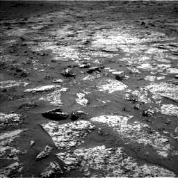 Nasa's Mars rover Curiosity acquired this image using its Left Navigation Camera on Sol 3147, at drive 2440, site number 88