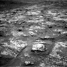 Nasa's Mars rover Curiosity acquired this image using its Left Navigation Camera on Sol 3147, at drive 2464, site number 88