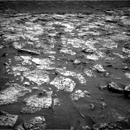 Nasa's Mars rover Curiosity acquired this image using its Left Navigation Camera on Sol 3147, at drive 2500, site number 88