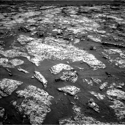 Nasa's Mars rover Curiosity acquired this image using its Left Navigation Camera on Sol 3147, at drive 2518, site number 88