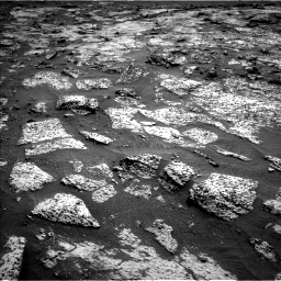 Nasa's Mars rover Curiosity acquired this image using its Left Navigation Camera on Sol 3147, at drive 2530, site number 88