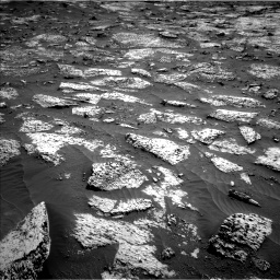 Nasa's Mars rover Curiosity acquired this image using its Left Navigation Camera on Sol 3147, at drive 2554, site number 88