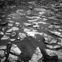 Nasa's Mars rover Curiosity acquired this image using its Left Navigation Camera on Sol 3147, at drive 2560, site number 88