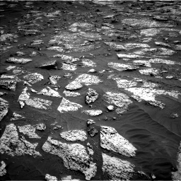 Nasa's Mars rover Curiosity acquired this image using its Left Navigation Camera on Sol 3147, at drive 2566, site number 88