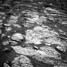 Nasa's Mars rover Curiosity acquired this image using its Left Navigation Camera on Sol 3147, at drive 2626, site number 88