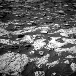 Nasa's Mars rover Curiosity acquired this image using its Left Navigation Camera on Sol 3147, at drive 2668, site number 88