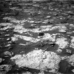 Nasa's Mars rover Curiosity acquired this image using its Left Navigation Camera on Sol 3147, at drive 2674, site number 88