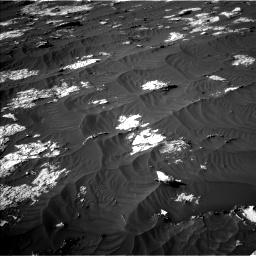 Nasa's Mars rover Curiosity acquired this image using its Left Navigation Camera on Sol 3147, at drive 2764, site number 88