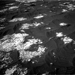 Nasa's Mars rover Curiosity acquired this image using its Left Navigation Camera on Sol 3147, at drive 2770, site number 88