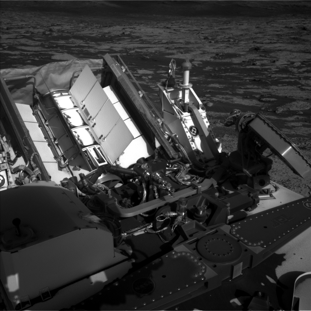Nasa's Mars rover Curiosity acquired this image using its Left Navigation Camera on Sol 3147, at drive 2794, site number 88