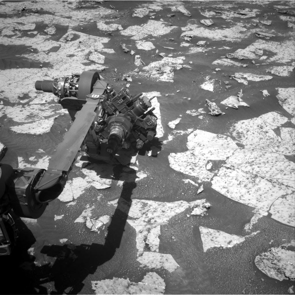 Nasa's Mars rover Curiosity acquired this image using its Right Navigation Camera on Sol 3147, at drive 2422, site number 88