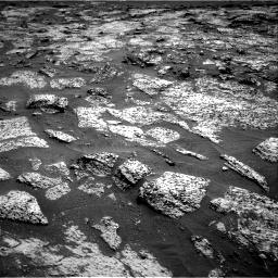 Nasa's Mars rover Curiosity acquired this image using its Right Navigation Camera on Sol 3147, at drive 2530, site number 88