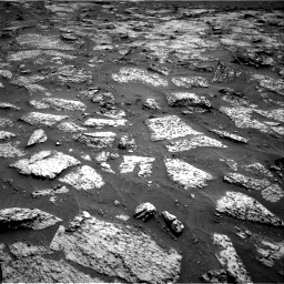 Nasa's Mars rover Curiosity acquired this image using its Right Navigation Camera on Sol 3147, at drive 2542, site number 88