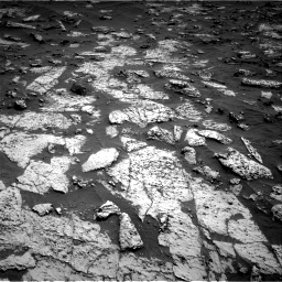 Nasa's Mars rover Curiosity acquired this image using its Right Navigation Camera on Sol 3147, at drive 2590, site number 88