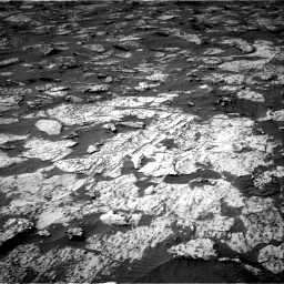 Nasa's Mars rover Curiosity acquired this image using its Right Navigation Camera on Sol 3147, at drive 2656, site number 88