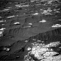 Nasa's Mars rover Curiosity acquired this image using its Right Navigation Camera on Sol 3147, at drive 2728, site number 88