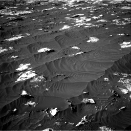 Nasa's Mars rover Curiosity acquired this image using its Right Navigation Camera on Sol 3147, at drive 2758, site number 88