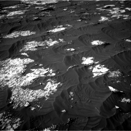 Nasa's Mars rover Curiosity acquired this image using its Right Navigation Camera on Sol 3147, at drive 2770, site number 88