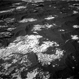 Nasa's Mars rover Curiosity acquired this image using its Right Navigation Camera on Sol 3147, at drive 2776, site number 88