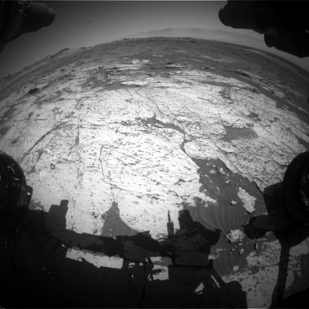 Nasa's Mars rover Curiosity acquired this image using its Front Hazard Avoidance Camera (Front Hazcam) on Sol 3148, at drive 2794, site number 88