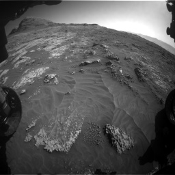 Nasa's Mars rover Curiosity acquired this image using its Front Hazard Avoidance Camera (Front Hazcam) on Sol 3149, at drive 3040, site number 88