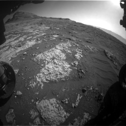 Nasa's Mars rover Curiosity acquired this image using its Front Hazard Avoidance Camera (Front Hazcam) on Sol 3149, at drive 3058, site number 88
