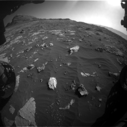 Nasa's Mars rover Curiosity acquired this image using its Front Hazard Avoidance Camera (Front Hazcam) on Sol 3149, at drive 3082, site number 88
