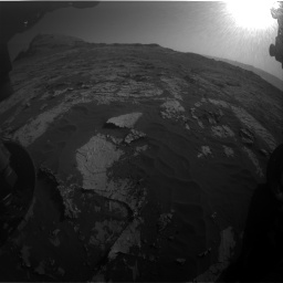 Nasa's Mars rover Curiosity acquired this image using its Front Hazard Avoidance Camera (Front Hazcam) on Sol 3149, at drive 3130, site number 88