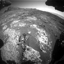Nasa's Mars rover Curiosity acquired this image using its Front Hazard Avoidance Camera (Front Hazcam) on Sol 3149, at drive 3016, site number 88